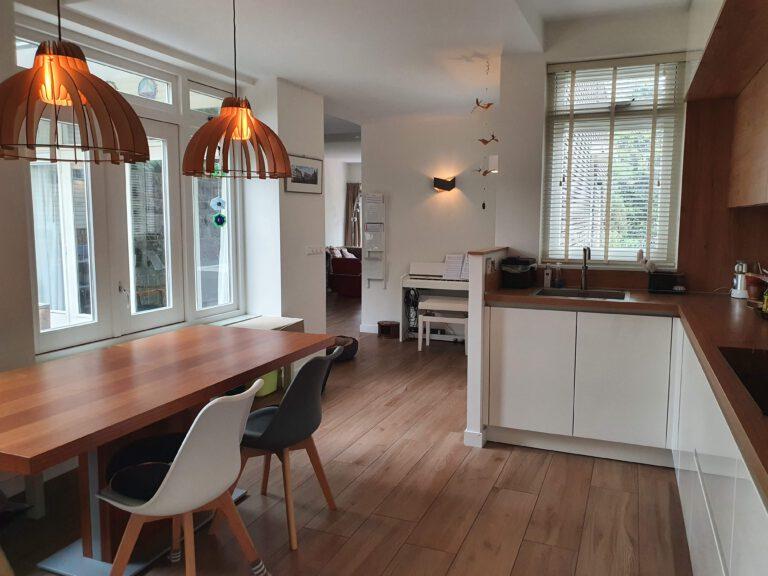 Benedenverdieping uitbreiding keuken
