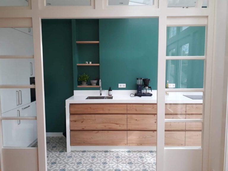 ontwerp aanbouw open keuken