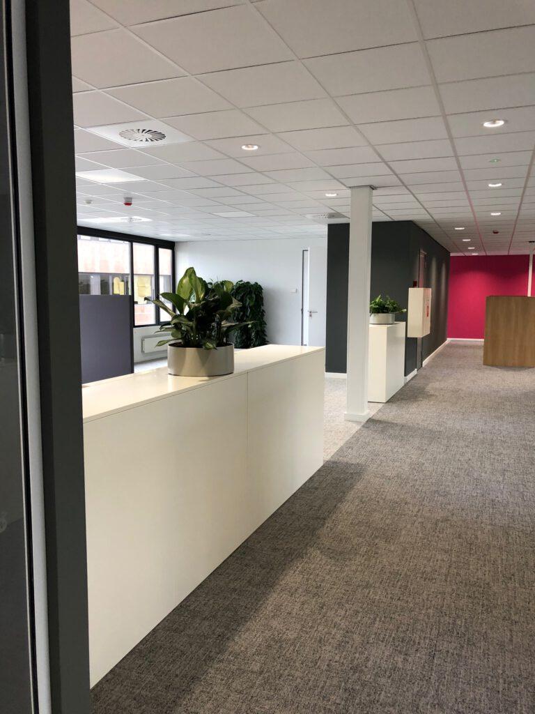 interieur hoofdkantoor | kantoortuin