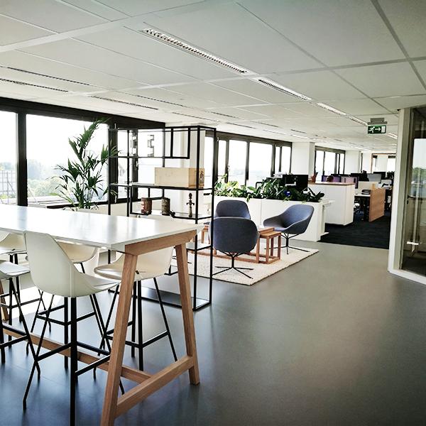 ontwerp kantoor interieur Pieters